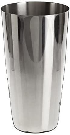 Adcraft BS-30 Mirror Finish, Stainless Steel Full Size Bar Shaker, 30 oz. Capacity, 7... by Adcraft