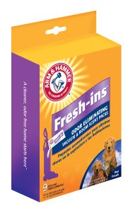 Arm and Hammer Fresh-ins Odor Eliminating Vacuum Scent Packs
