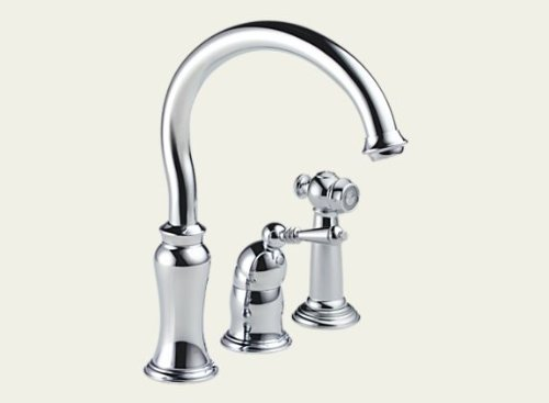 Brizo 61301-PC136 Stratford Single Handle Kitchen Faucet with Spray – Chrome