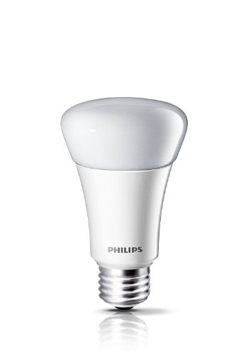Philips 424374 8-watt (40-watt) A19 LED Household