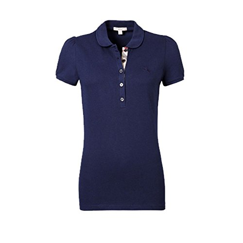 BURBERRY -  Polo  - Donna Blu marino X-Large