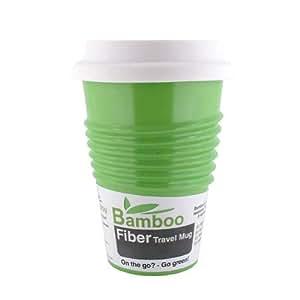 Made By Humans Bamboo Fiber Mug, Green