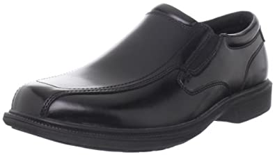 Nunn Bush Men's Bleeker St Slip-On Loafer, Black, 7 M US