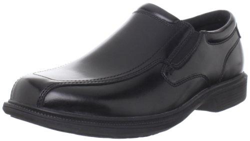 Nunn Bush Men's Bleeker St Slip-On Loafer, Black, 11 M US (Mens Nun Bush compare prices)