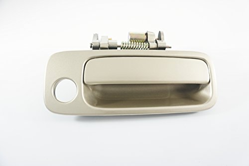 97-01 Toyota Camry Replacement Front Right Passenger Side Outside Door Handle (4M9 Cashmere Beige Gold) (2001 Camry Door Handle 4m9 compare prices)