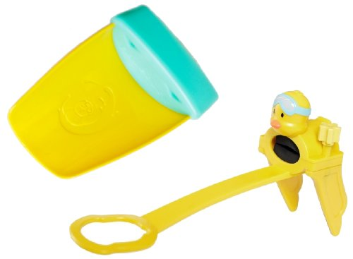 Aqueduck Child Faucet Extender with Single-Handle Extender, Aqua - 1