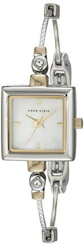 AK Anne Klein Femmes 109117MPTT Place Cristal Swarovski accentués montre de ton bracelet