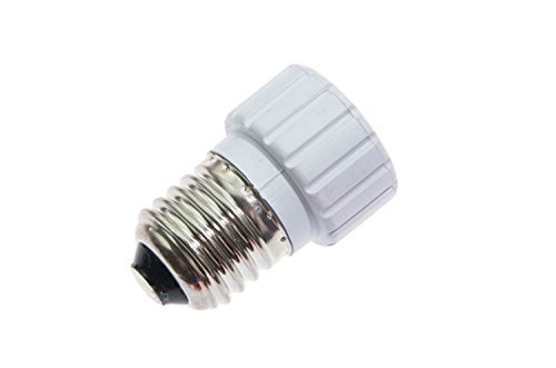 Shangge Ce&Rohs Certification 5 Pcs E27 To Gz10 Led Bulb Base Converter Halogen Cfl Light Lamp Adapter Socket Change Pbt