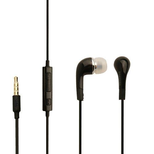 Original Samsung Headset EHS64 in Schwarz für GT-S7580 Galaxy Trend Plus InEar In-Ear Kopfhörer Ohrhörer Ohrstöpsel 3,5mm Stecker Stereo Sound