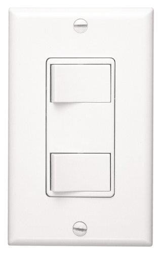 NuTone 68W Multi-Function Wall Control for Ventilation Fans, White (Wall Ventilation compare prices)