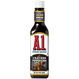 A1 Steak Sauce Cracked Peppercorn 10-oz (Pack of 3)