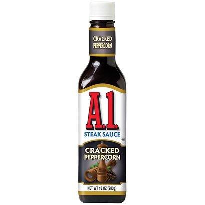 A1 Steak Sauce Cracked Peppercorn 10-oz (Pack