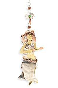 Pilgrim Imports Hula Girl Fair Trade Ornament