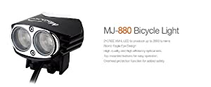 Magicshine Mj-880 2000 Lumen Led Bike Light 2012 Version W/ Imporved Battery+charger