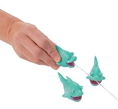Mini Shark Squirts (1 dz) (Shark Cake Topper compare prices)