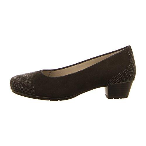 Donna scarpa décolleté schwarz nero, (schwarz) 12-47612-01