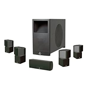Pyle PHS51P PyleHome 5.1 Home Theater Passive Audio System Four Satellite, Center Channel and 10-Inch Subwoofer from Pyle