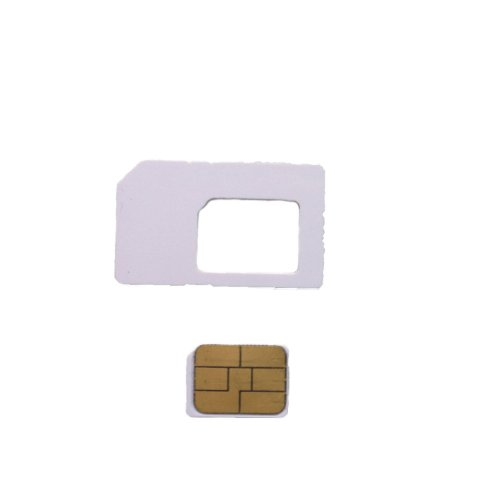 Nano SIM サイズ  SoftBank 対応 ソフトバンク iPhone 専用 アクティベート カード  3G/3GS/4/4S/5 全 iOS 対応 MS オリジナル Activation Card ( SIM カード 変換 アダプタ 3種類付属)