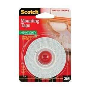 Scotch Mounting Tape 1/2X75