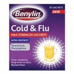 Benylin Cold And Flu Max Lemon