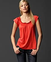 Tommy Hilfiger Scoop-Neck Top with Ruching