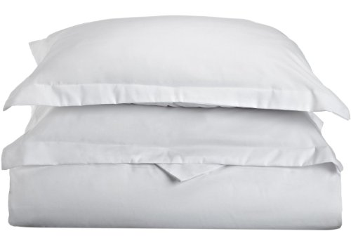 Impressions 1500 Series Wrinkle Resistant Twin/Twin Xl Duvet Cover 2-Pc Set Solid, White front-225992