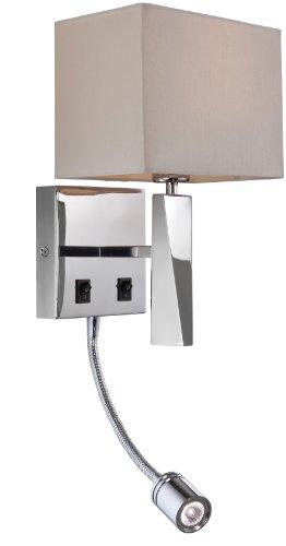 firstlight-mansion-lampara-de-pared-con-pantalla-de-tela-y-brazo-para-lectura-1-bombilla-e14-de-40-w