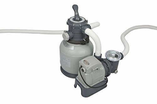 Intex Sandfilteranlage Krystal Clear 6,0 m³, TÜV/GS, Grau, 6.000 l/h / 370 W / 230/12 V bestellen