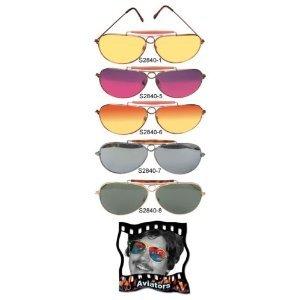 Orange Aviator Shooting Sunglasses Aviators Glasses