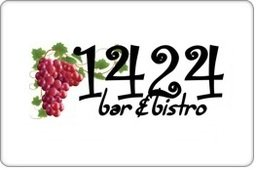 1424 Bistro Gift Certificate ($75) front-785898