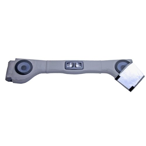 Rugged Ridge 13001.09 Upholstered Grey 2 Speaker Sound Bar