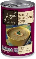 Amys Crème Org de Soupe aux champignons 400g x 3