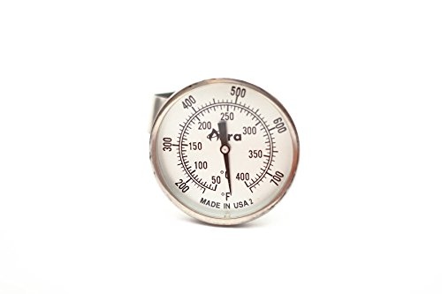 Aura Outdoor Products AOP-TPT-A Non-Digital TPT Tel-Tru Temperature Gauge Thermometer for Big Green Egg, Kamado Joe, Primo (Big Green Egg Thermometer Digital compare prices)