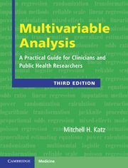 Multivariable Analysis: A Practical Guide for Clinicians and Public Health Researchers (Cambridge Medicine (Hardcover))