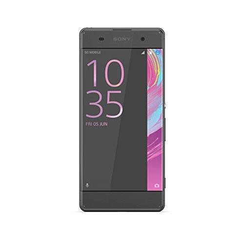 Sony Xperia XA F3111BLK Smartphone da 16 GB, Nero [Italia]