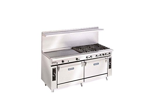 Imperial-Commercial-Restaurant-Range-72-With-6-Burner-36-Griddle-2-Ovens-Nat-Gas-Ir-6-G36-Cc