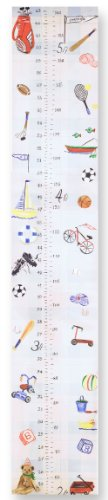 The Kids Room by Stupell Multi-Sport Growth Chart