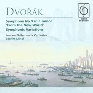 """Dvorák: Symphony No.9 """"From the New World"""": Symphonic Variations"""