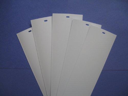 Pvc Vertical Blind Replacement Slat White 5 Pk 82 12 X 3