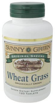 Solaray  Wheat Grass 520 mg 120 tabls