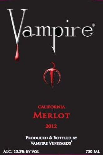 2012 Vampire Merlot 750 Ml