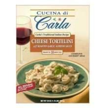 Carlas Dominics Cheese Tortellini Pasta, 3 Pound -- 4 per case.