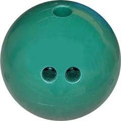 Buy 5 lb. Cosom Rubberized Plastic Bowling Ball - Dark Green by Olympia Sports