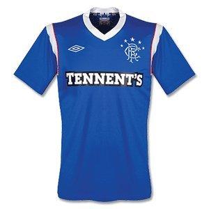 2011-12 Glasgow Rangers Umbro Home Football Shirt