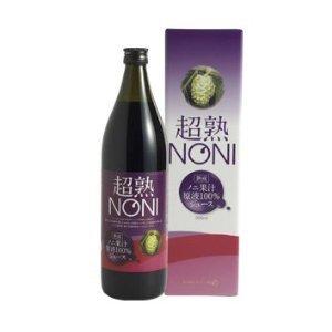 ビタミン・ミネラル約140種類以上の栄養素をもつノニジュース 超熟ノニ 熟成タイプ 1本