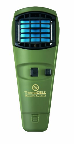 Thermacell Mr-Gj Mosquito Operated Personal Pest Control Appliance In Olive Green