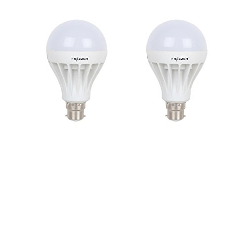 7W LED Bulb (White, Pack of 2)