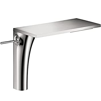 Hansgrohe 18020001 Axor Massaud Single Hole Tall Bathroom Faucet with Single Handle