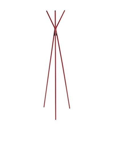 Eurostyle Celia Coat Rack, Red
