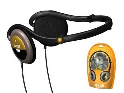 Maxell Nb-303F Folding Stereo Neckband Headphone (Discontinued By Manufacturer)